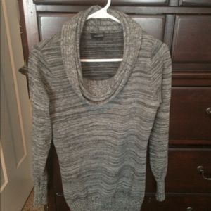 The Limited gray tunic/long sweater.